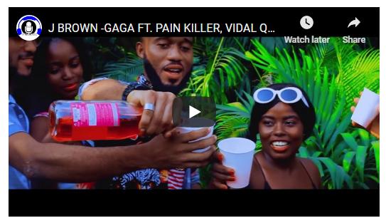 J Brown - Gaga ft. Pain Killer (Official Video)