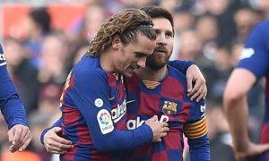 Lionel Messi and Griezman